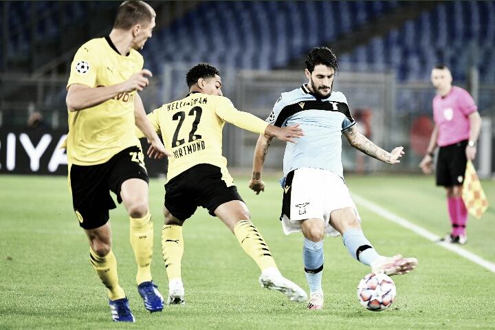 Gols e melhores momentos para Borussia Dortmund 1x1 Lazio pela Champions League