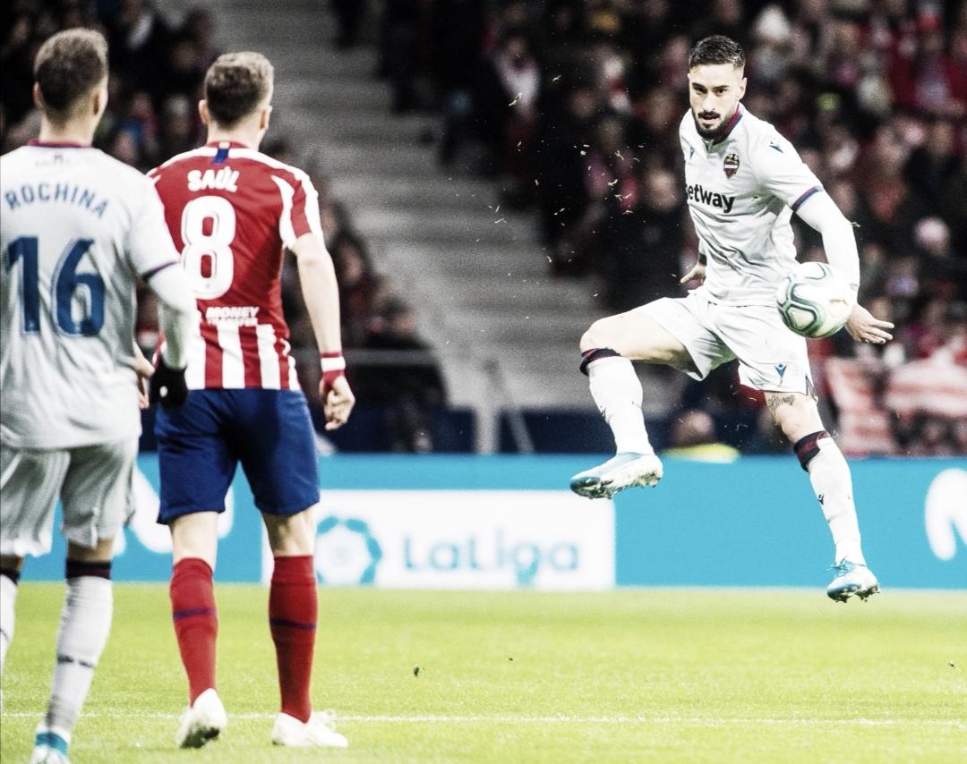 Atlético de Madrid vs Levante(2-1): Los reyes magos son valencianos