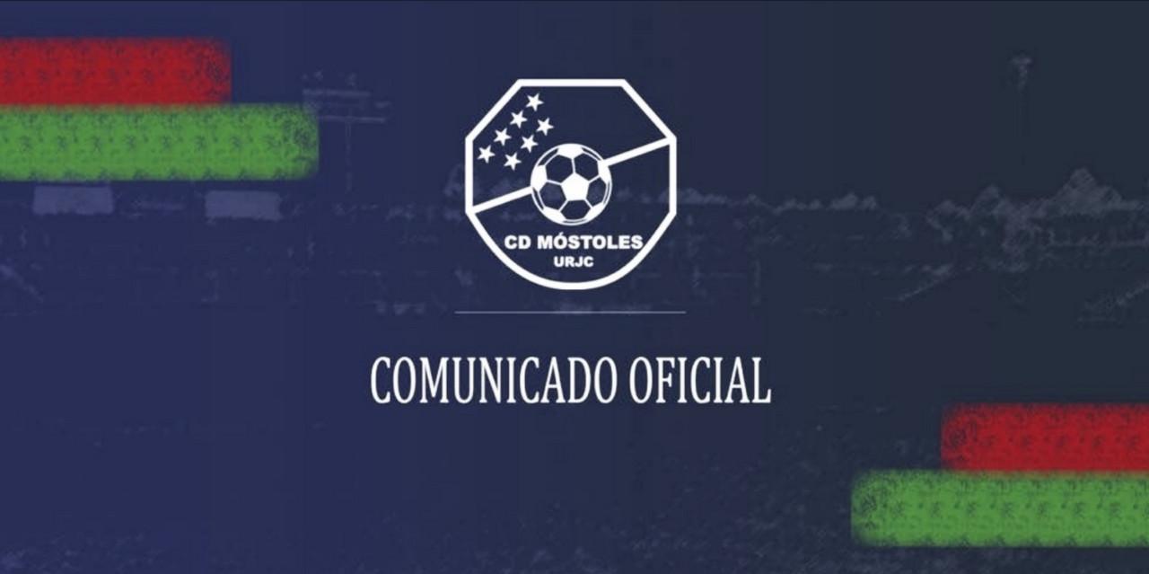 Javi Meléndez, destituido del CD Móstoles URJC; Víctor González, nuevo entrenador
