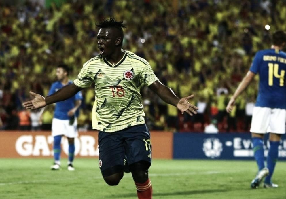 Edwuin Cetré: Incisivo ante Brasil