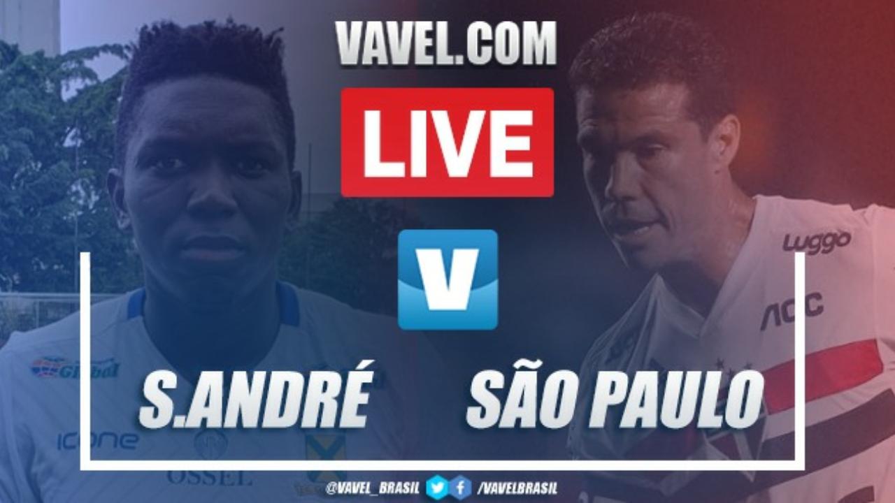 Gols e melhores momentos Santo André 2x1 São Paulo pelo Campeonato Paulista 2020