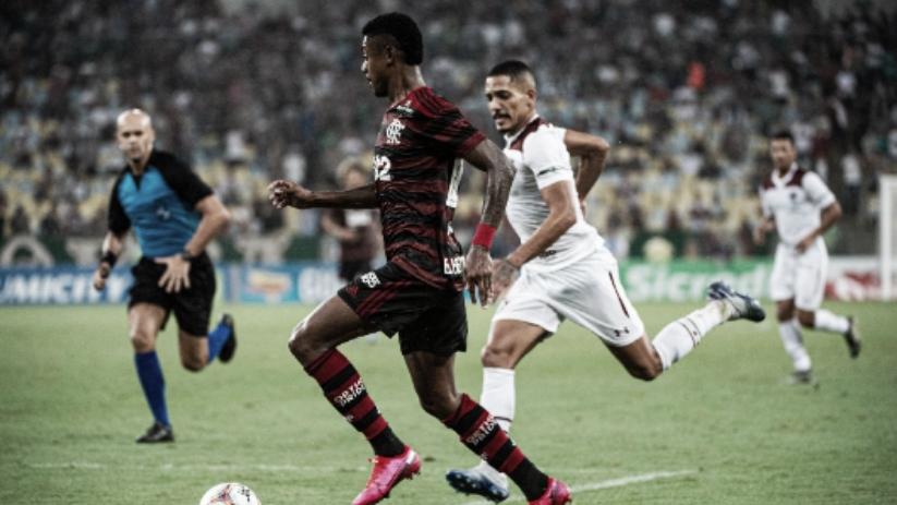 Insatisfeitos, Gilberto e Henrique culpam início negativo do Fluminense contra o Flamengo