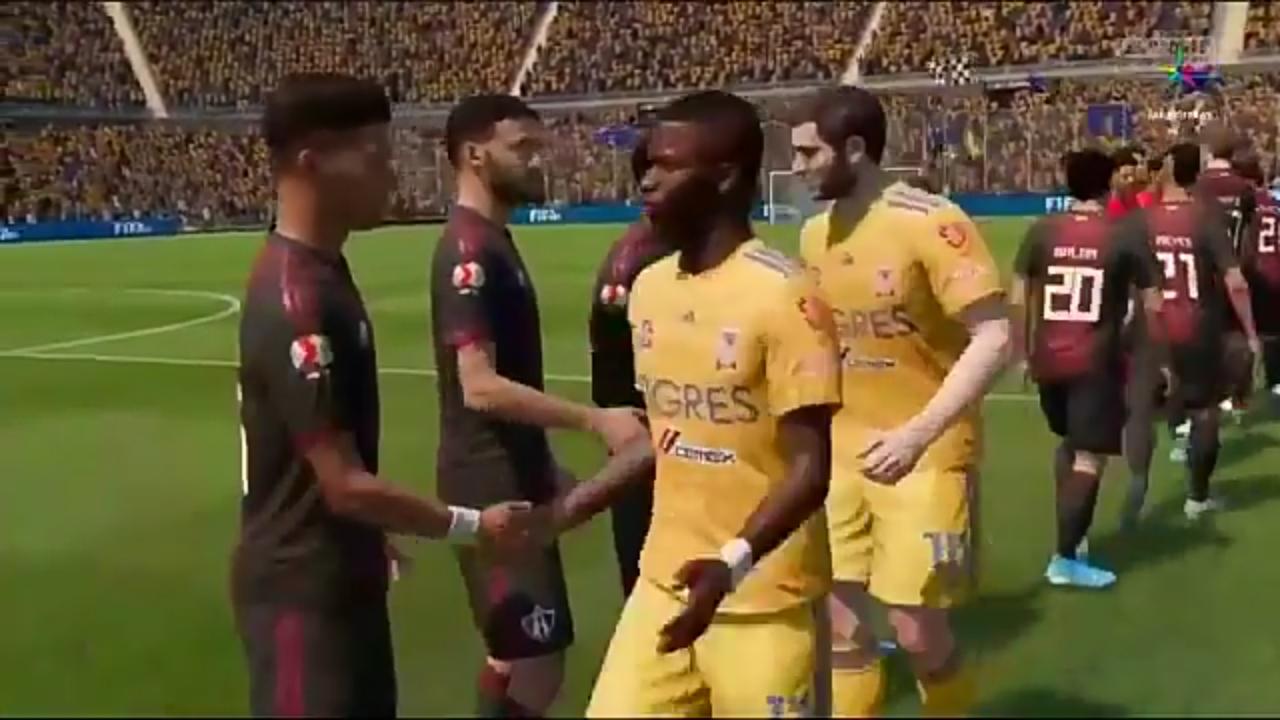 Atlas golea a Tigres en eLiga MX