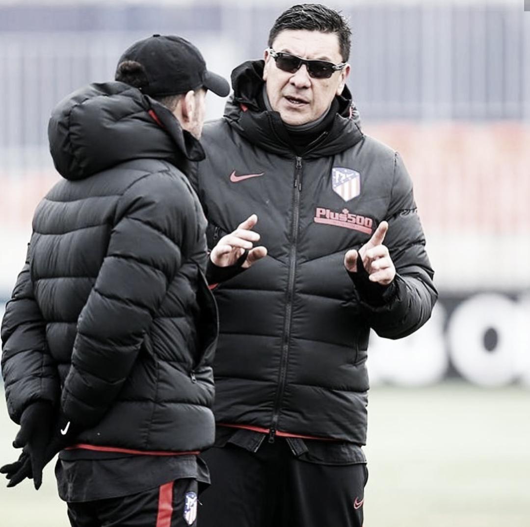"""OFICIAL: el """"Mono"""" Burgos se marcha del Atlético de Madrid"""