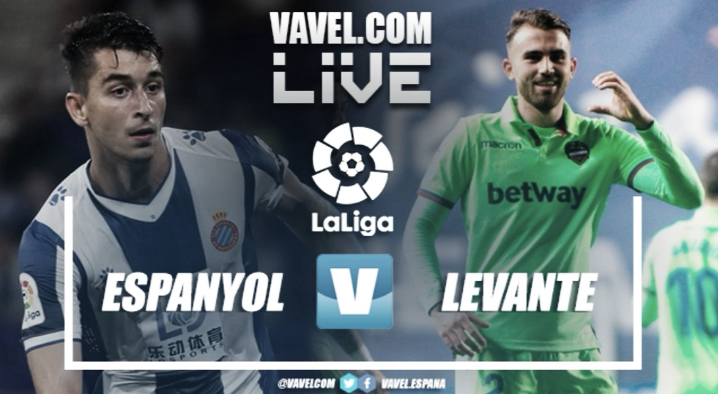 Resumen Espanyol vs Levante (1-3)