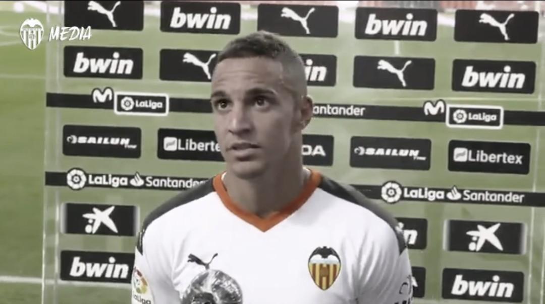 """Rodrigo: """"El Valencia merece un poco de respeto"""""""
