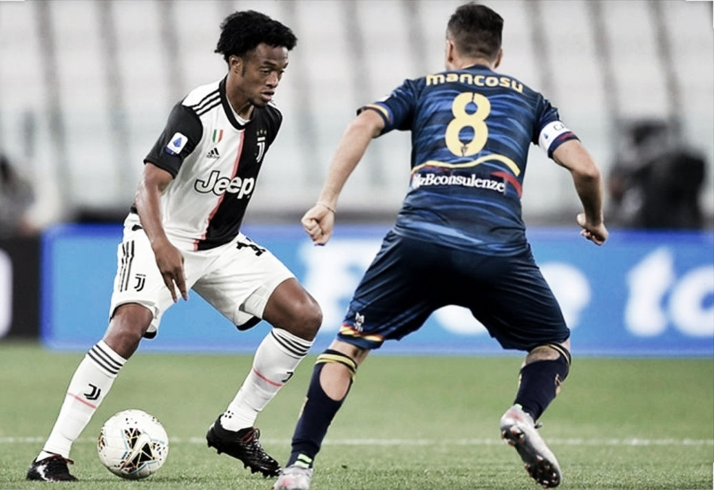 Juan Cuadrado sigue afianzado en Juventus