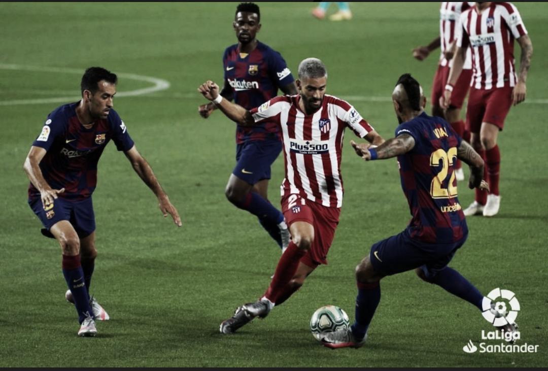 FC Barcelona 2-2 Atlético de Madrid: regalo al vecino