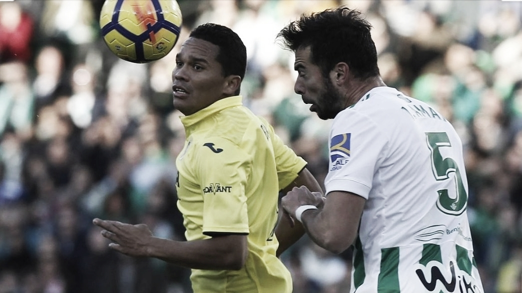 Bacca y su aporte para Villarreal