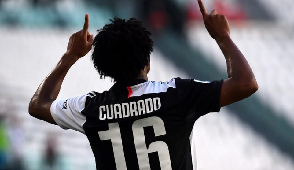 Juan Guillermo Cuadrado anotó gol con Juventus