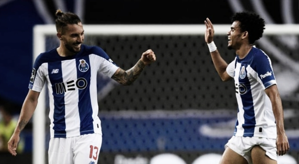 Luis Díaz selló el triunfo de Porto