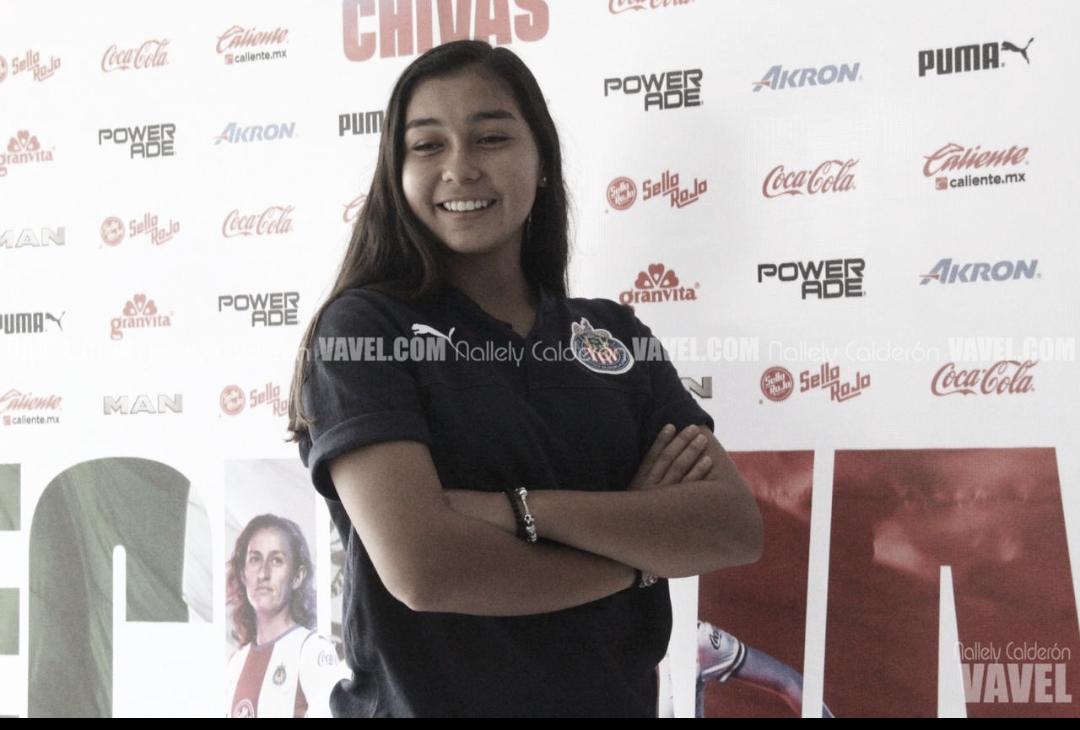 """Nicole Pérez: """"Quiero quedar campeona con Chivas porque no me tocó el primer torneo"""""""