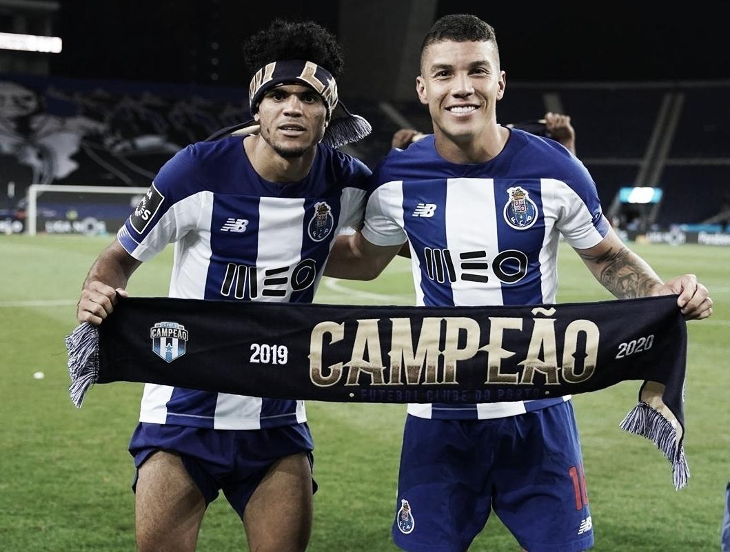 Luis Díaz y Matheus Uribe, campeones en Portugal