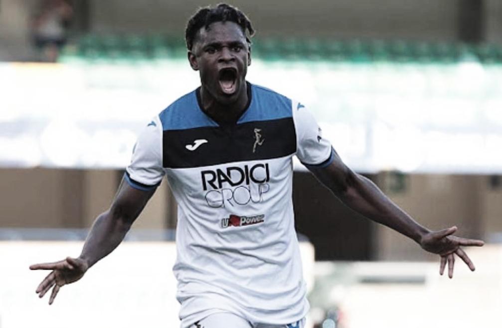 'El Toro' encendido: Duván Zapata marcó gol en Italia