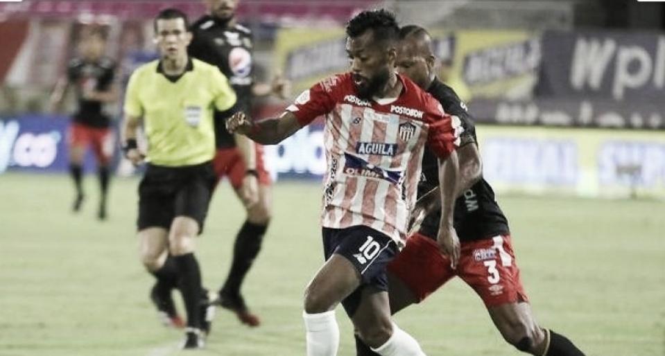 Junior cayó ante América en la ida de la Superliga