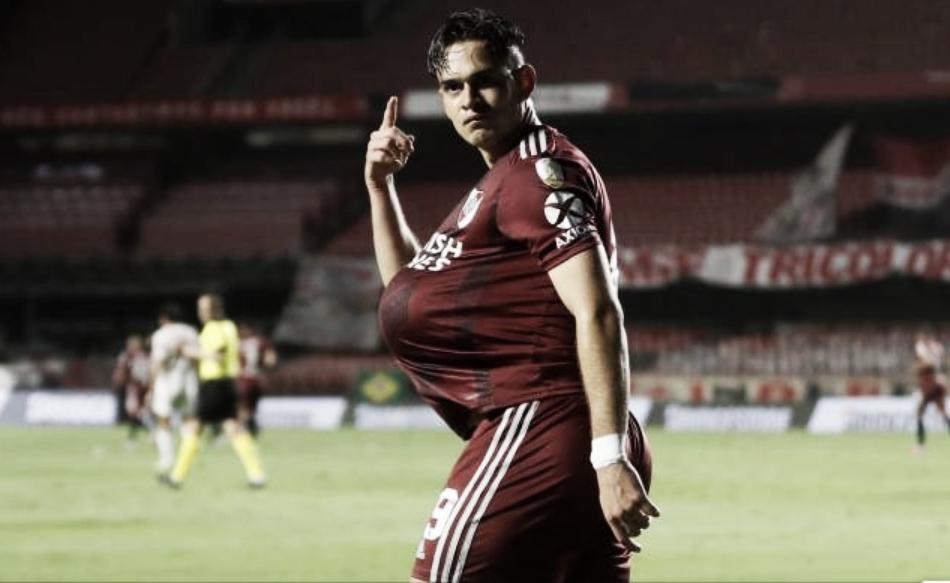 Rafael Santos se reportó con gol para River