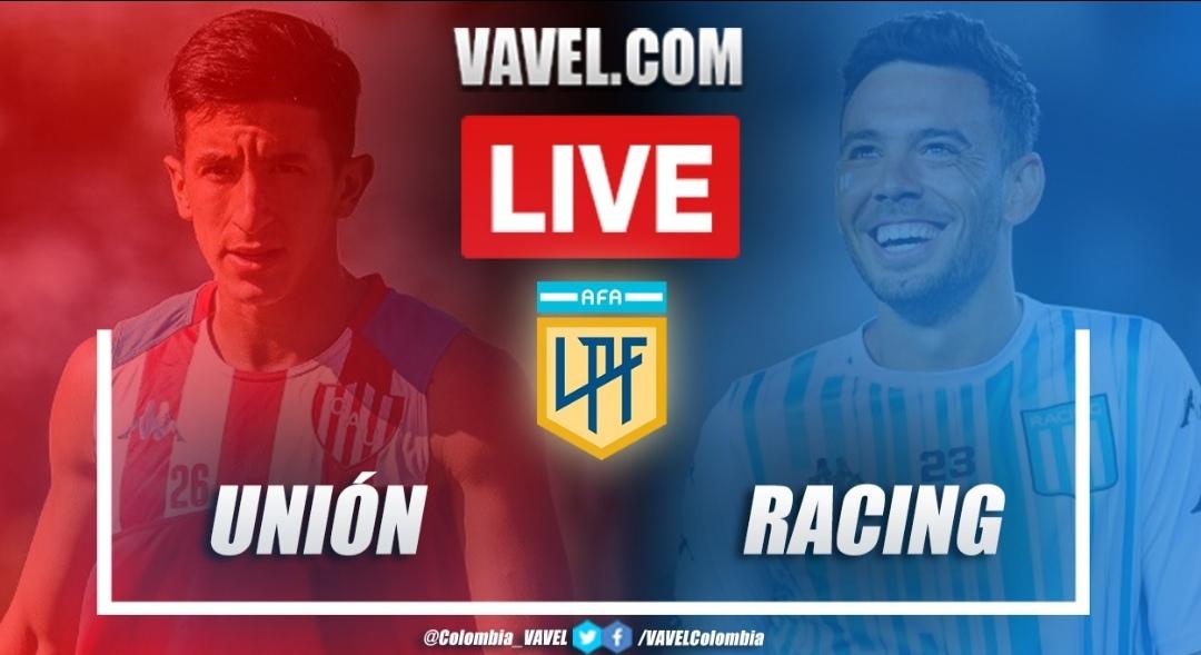 Resumen y goles: Unión vs Racing (2-0) en la Copa de la Liga Profesional
