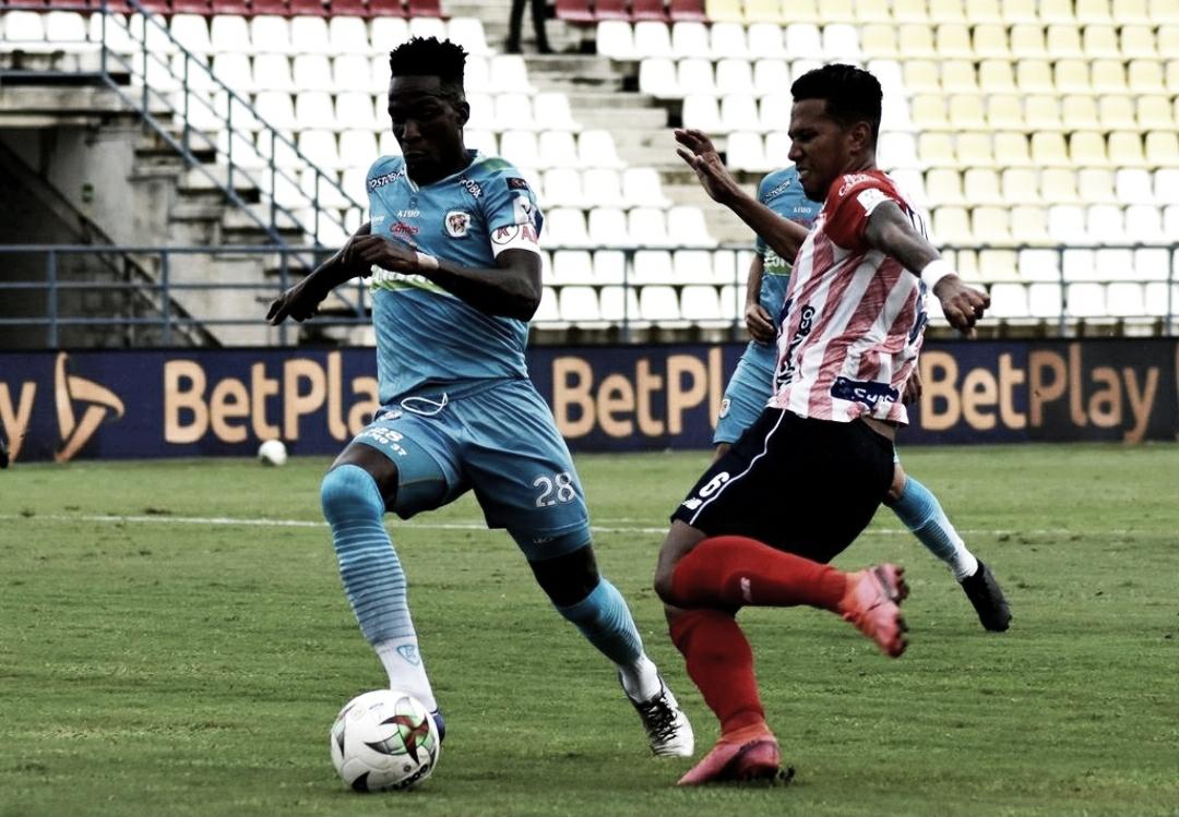 Junior no sacó más del empate ante Jaguares en Montería