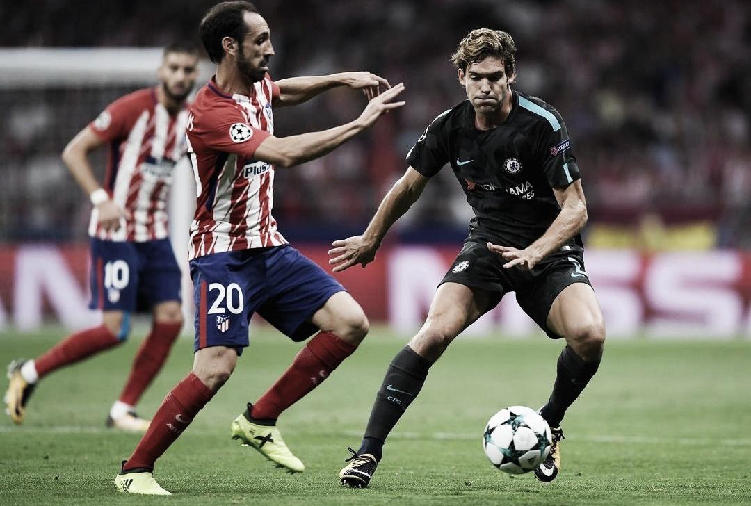 Marcos Alonso, en la órbita del Atlético de Madrid
