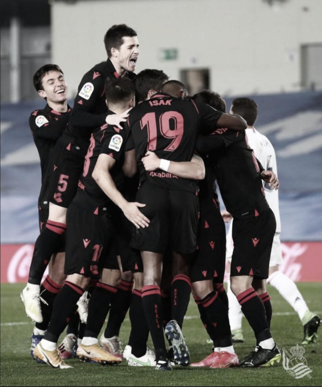 Real Madrid - Real Sociedad: Puntuaciones de la Real Sociedad en la jornada 25 de LaLiga Santander