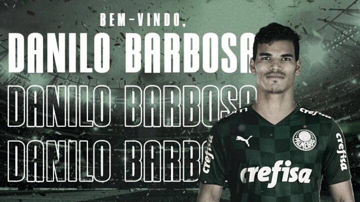 Palmeiras anuncia Danilo Barbosa como primeiro reforço para 2021