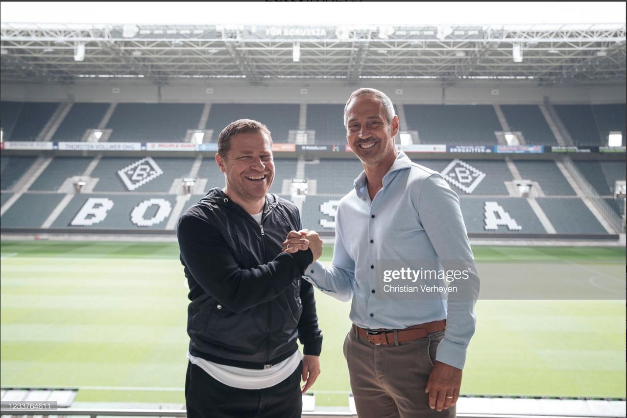 Adi Hütter finally arrives in Mönchengladbach