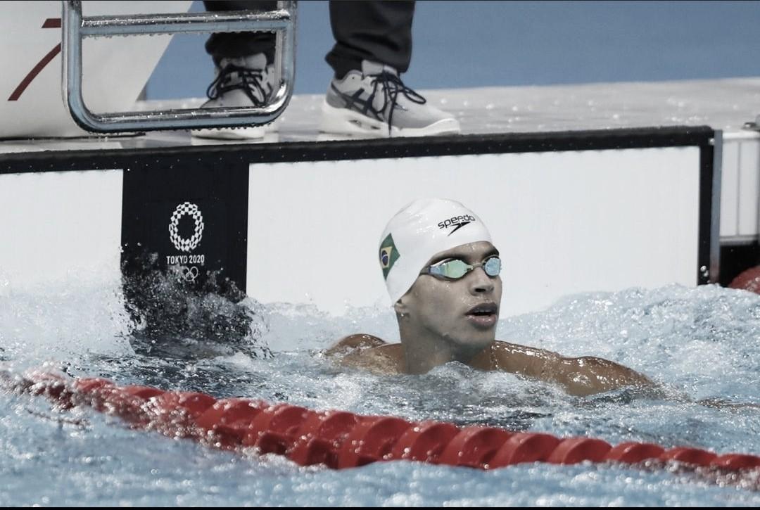 Natação: Brasil tem finalistas no revezamento 4x200m e nos 800m livres