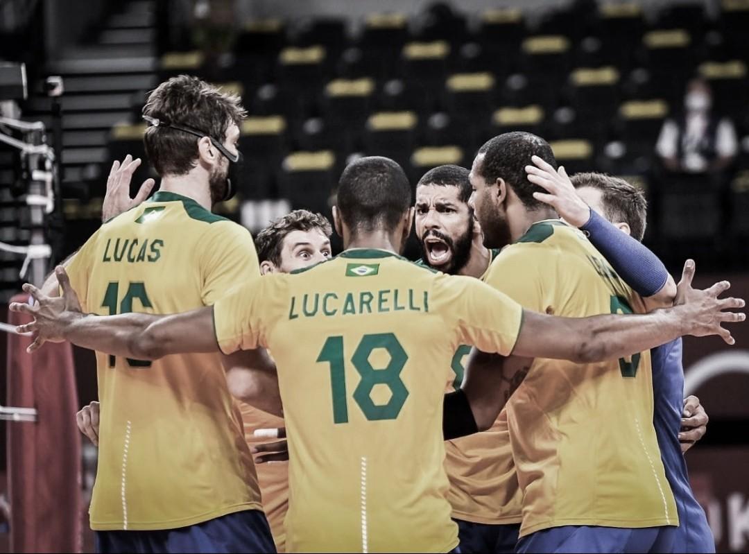Brasil se recupera e vence Estados Unidos no vôlei masculino