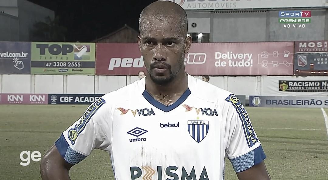 """Copete valoriza empate diante do Brusque pela Série B: """"Vai ser importante lá na frente"""""""