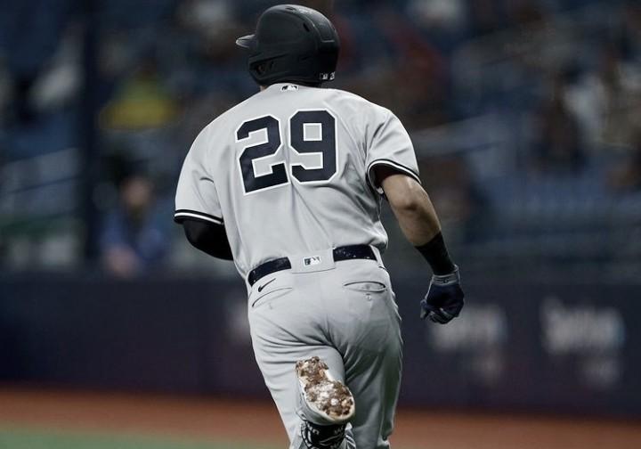 Gio Urshela conectó jonrón y fue la figura de los Yankees en la victoria ante los Rays