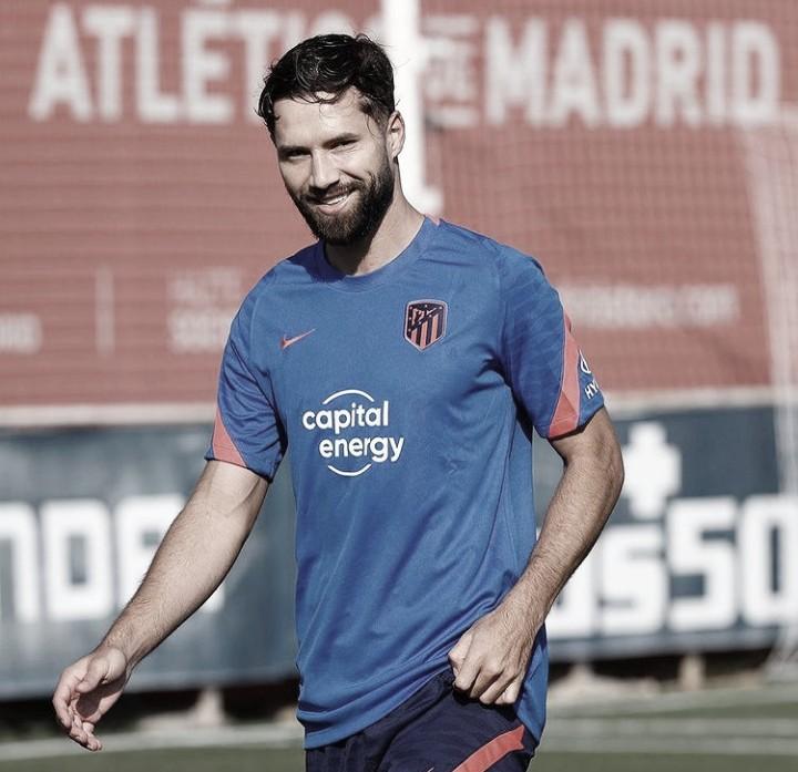 Felipe vuelve a los entrenamientos