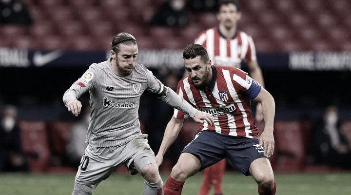 Resumen Atlético de Madrid vs Athletic Club en LaLiga 2021 (0-0)