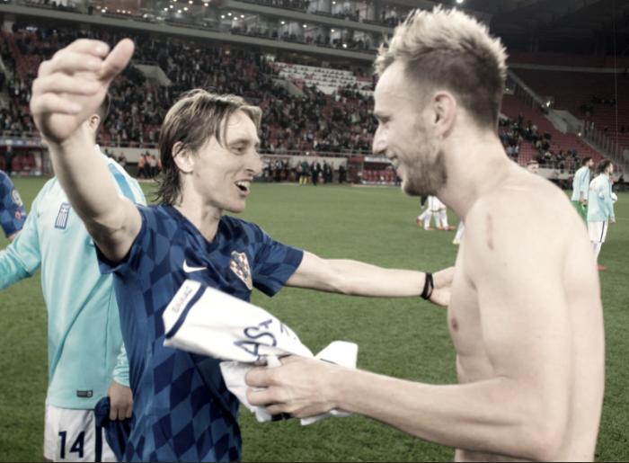 Luka Modric y Croacia estarán en Rusia