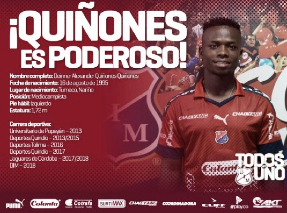 Deinner Quiñones, nuevo refuerzo del DIM