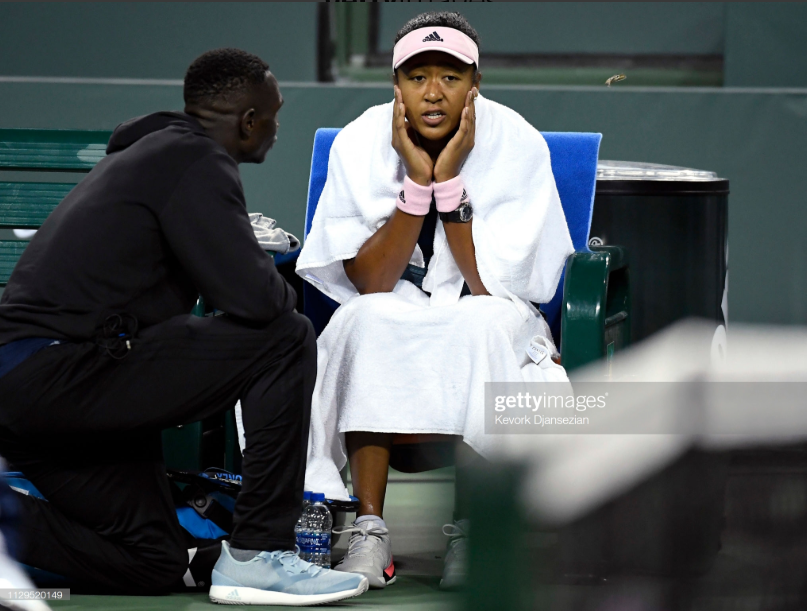 Naomi Osaka splits with coach Jermaine Jenkins