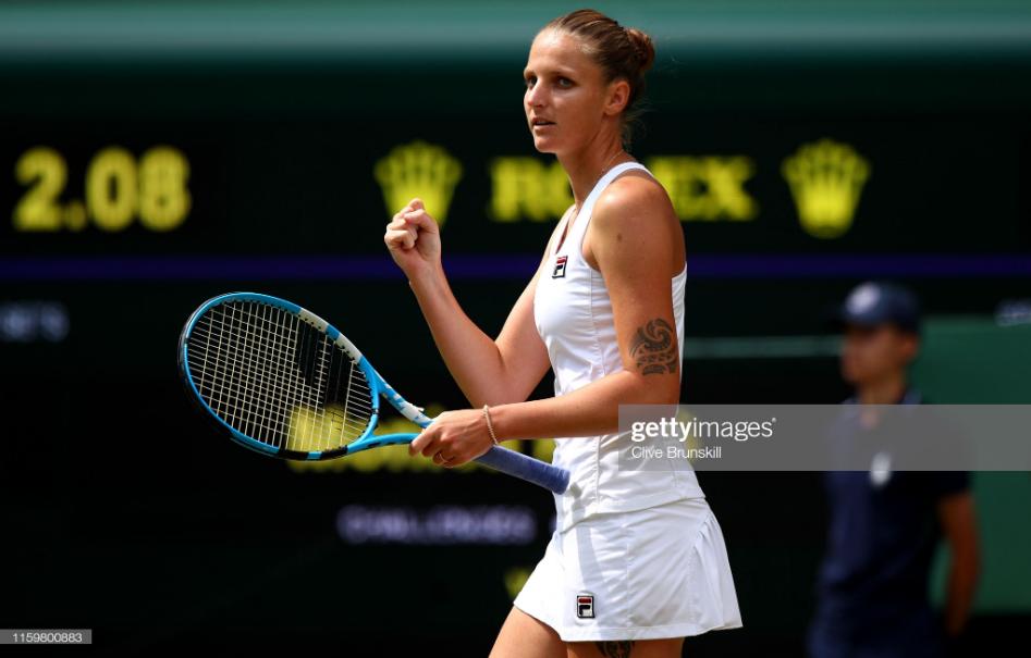 Wimbledon: Karolina Pliskova eases into Round Three