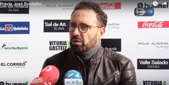 """Bordalás: """"El Alavés es un ejemplo de superación, de honestidad, de competitividad y de respeto"""""""