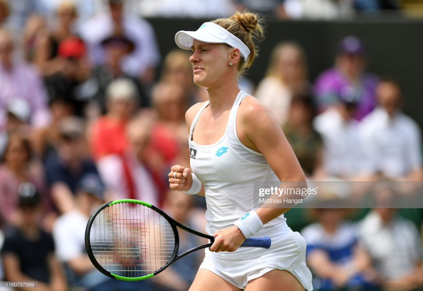 Wimbledon: Alison Riske stuns Ashleigh Barty to reach first Grand Slam quarterfinal