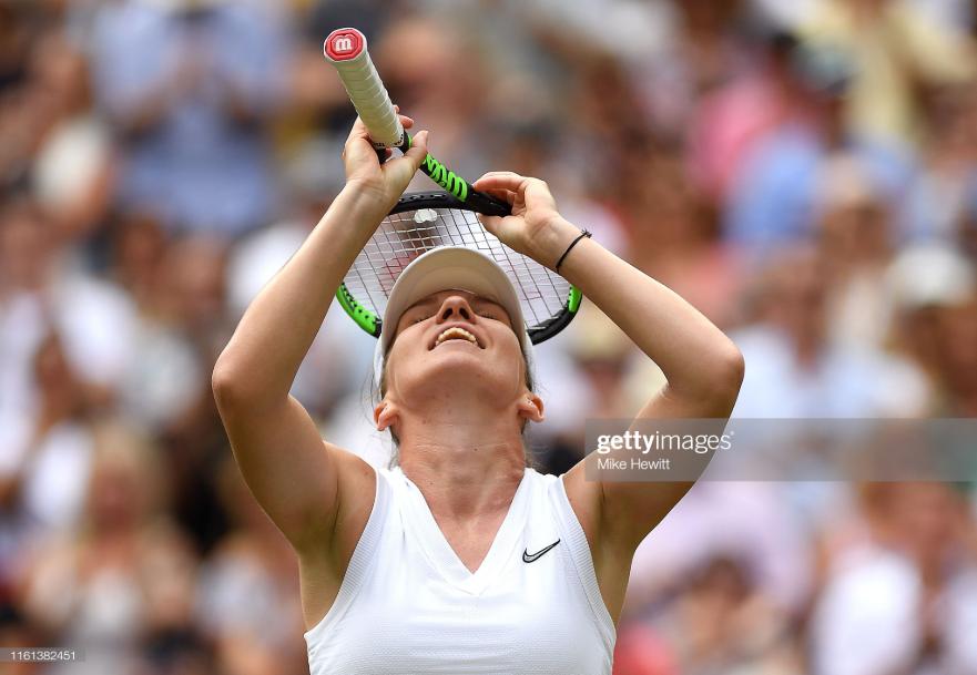 Wimbledon: Simona Halep slides past Elina Svitolina to reach fifth Grand Slam final