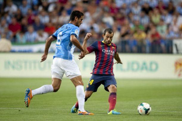 Málaga - FC Barcelona: todo listo para derribar la gran muralla culé
