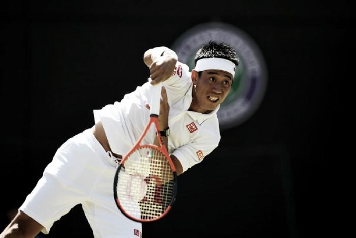 Wimbledon: Kei Nishikori outlasts Sergiy Stakhovsky to seal third round berth