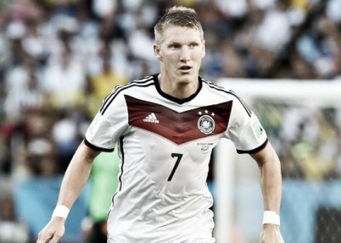 Tegola Schweinsteiger, lesione parziale ad un legamento, Europeo a rischio