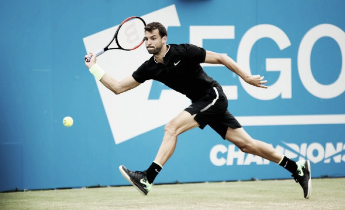 ATP Queens: Grigor Dimitrov outlasts Daniil Medvedev to advance to semifinals