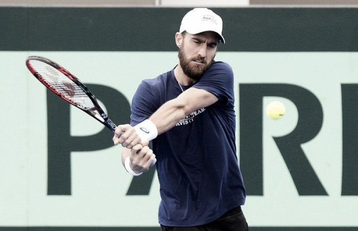 Steve Johnson hails 'willpower' as key in Houston triumph