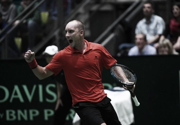 Davis Cup, il Belgio fa fuori la Germania. Si salva la Spagna