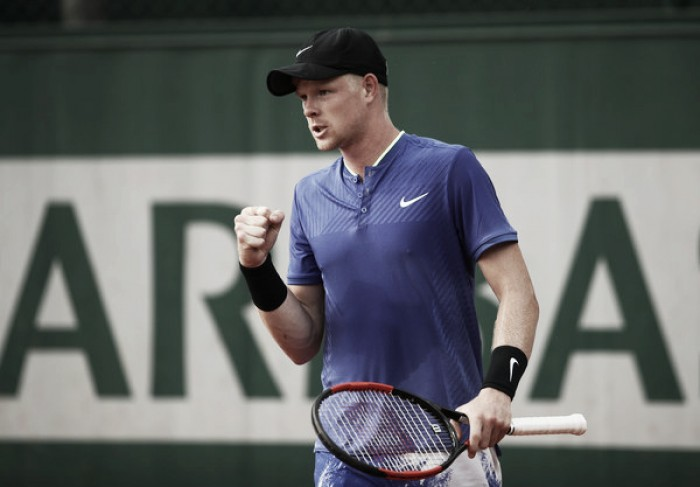 French Open: Kyle Edmund powers past Renzo Olivo to seal third round place
