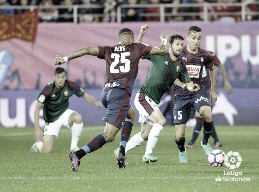 Resumen Eibar vs Osasuna (0-2)