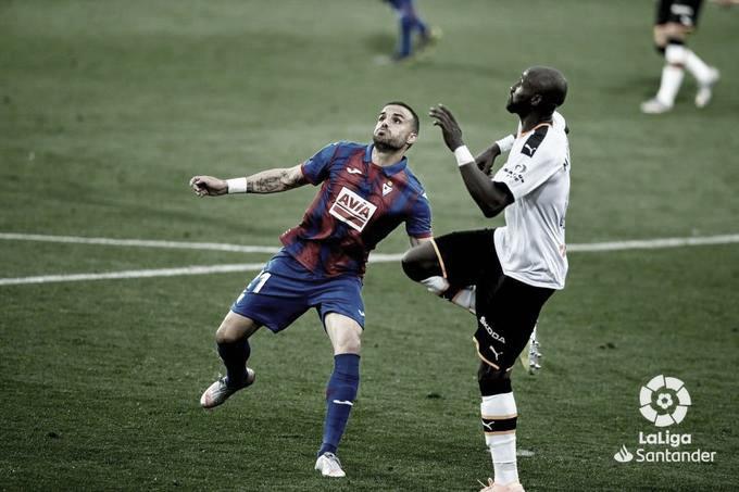 Resumen Eibar vs Valencia en La Liga Santander 2020-2021