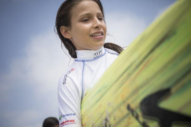 Surf: Peruana Lara Barrios se despide del Mundial ISA