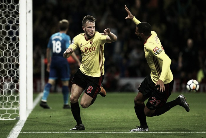 Inglaterra: Watford de Marco Silva bate Arsenal e sobe a quarto